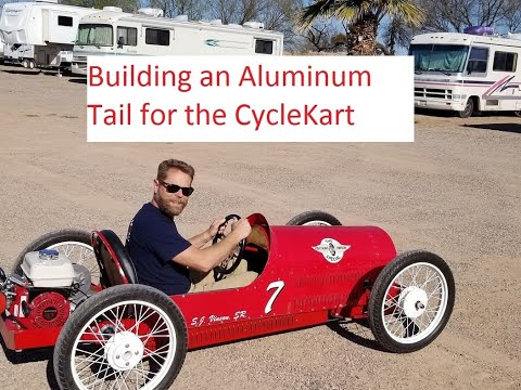 Aluminum Cyclekart Tail Section