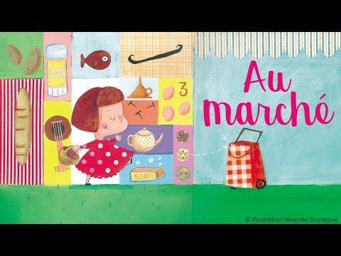 Henri Dès chante - Au marché - chanson pour enfants