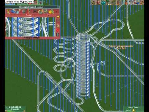 RollerCoaster Tycoon 2 Intense Coaster