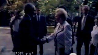 Əbülfəz Elçibəyin Marqaret Tetçerlə görüşü (7-8 sentyabr 1992)