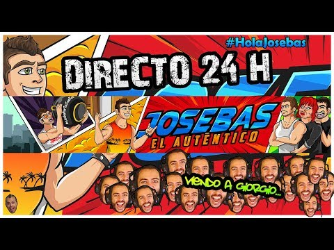 RETO 24H EN DIRECTO 1 | Viendo a Giorgio #HolaJosebas