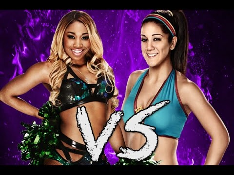 WWE 2K15 (PS4): Bayley Vs Cameron