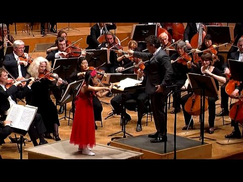 Lalo Spanish Symphony in D Minor, 5th mov - Leia Zhu, Maxim Vengerov, National Orchestra of Belgium