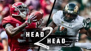 Head To Head: Alabama vs. Colorado State