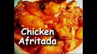 Best Tasting Chicken Afritada (Filipino Chicken Tomato Stew)
