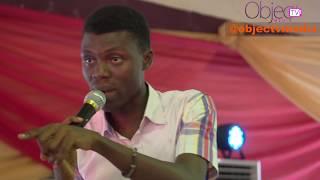 Femi Adeyeye Addresses Law Students of UNILAG, Advises VC Rahman Bello to Take JAMB again