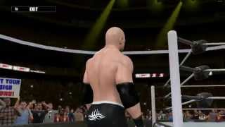 WWE 2K15 Bill Goldberg  with Custom Titan-tron/Music Entrance Mod