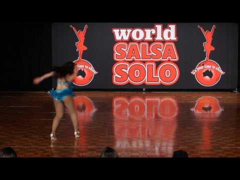WSS & BLDF 2016 Pro Female Salsa Soloists Laura Franco