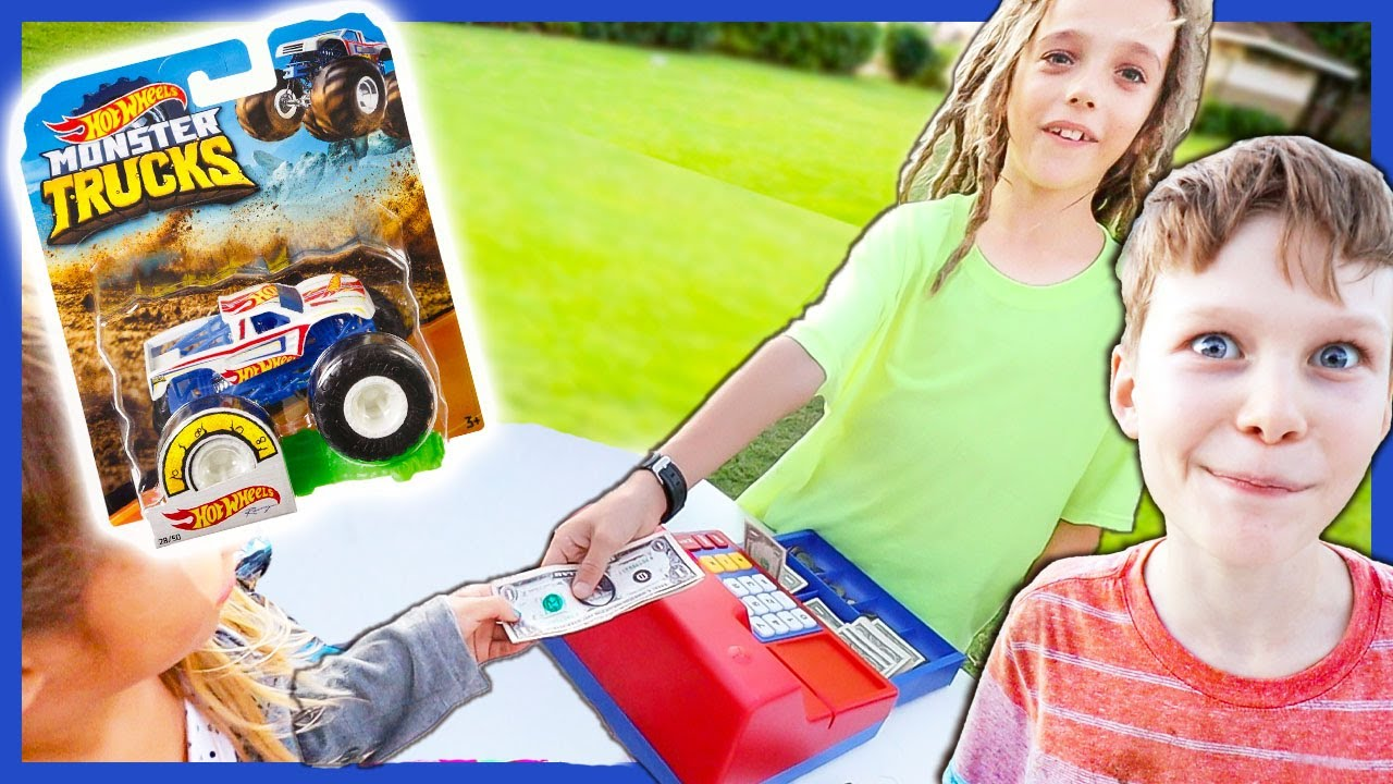 Free Hot Wheels Monster Truck Toy Store Youtube