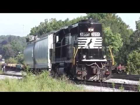 NORFOLK SOUTHERN TRAINS IN MABLETON AND ATLANTA,GA. 9-3-1014 PART #1