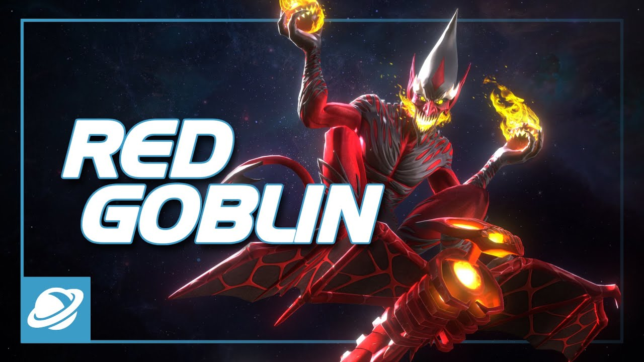 Red Goblin Special Moves | Marvel Contest of Champions