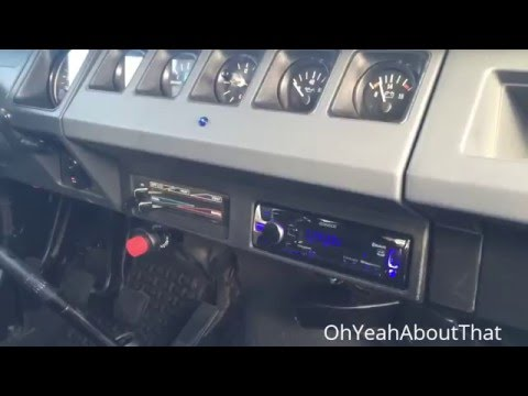 Project 1991 JEEP WRANGLER (Jeep YJ), Part 66, New Stereo Installed!