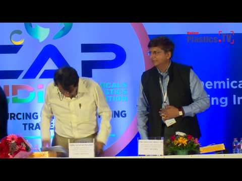CAP India 2018 inauguration featuring Honorary Minister of Commerce and Industry, Mr. Suresh Prabhu