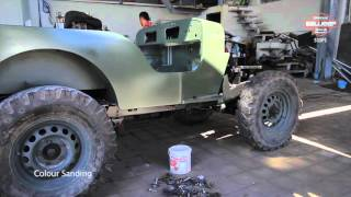 "BALIJEEP 4X4 - S1SP1 - ""1966 Willys CJ3b restoration"""