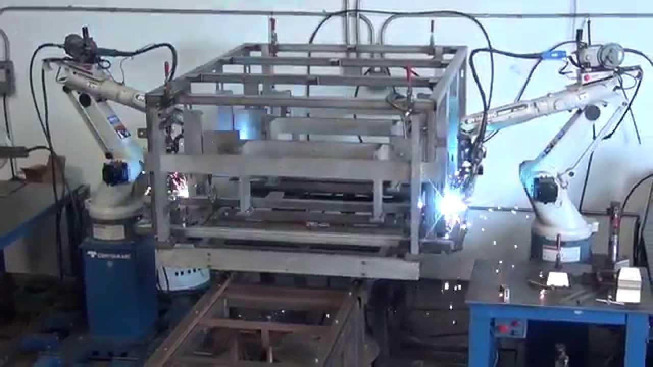 Contour Arc Inc Robotic Tubular Frame Welding Youtube