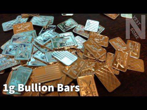 1g Bullion Bars from eBay