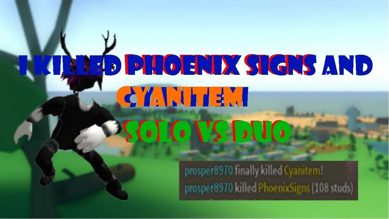 I KILLED PHOENIX SIGNS AND CYANITEM IN STRUCID BATTLE ...