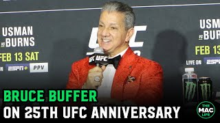 Bruce Buffer talks 25th anniversary in the UFC