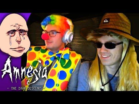 [Criken] Amnesia The Dark Descent : Modded Maps in Cosplay w Tomato
