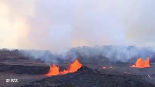 USGS Status Update of Kīlauea Volcano - May 23, 2018