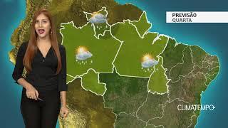 Previsão Norte -  Ar quente e úmido