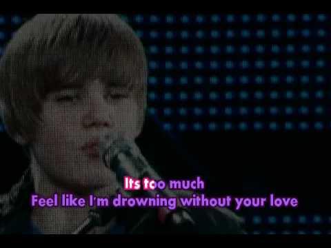Justin Bieber - Overboard (Karaoke/HQ)