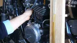 honda v45 magna vf750c rc09 1982 carb sync reglage