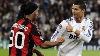 O Dia que Ronaldinho Gaúcho e Cristiano Ronaldo Se Enfrentaram!