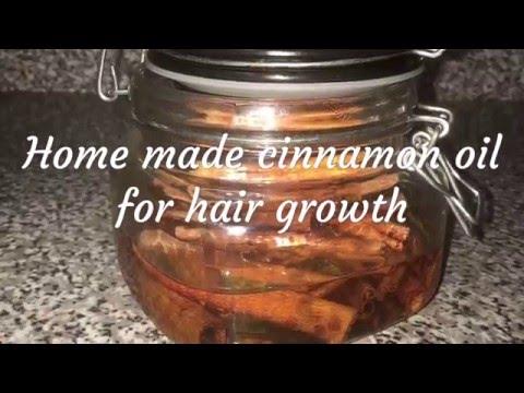 Home made cinnamon hair growth oil youtube urmus Choice Image