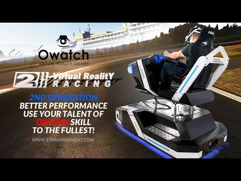 VR Racing 2rd Driving in the Virtual Reality World with ...