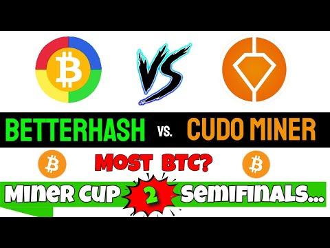 Cudo Miner   BetterHash   Who Wins?  Miner Cup 2 ⛏️