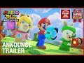Mario Rabbids Kingdom Battle E3 2017 Announcement Trailer Ubisoft US