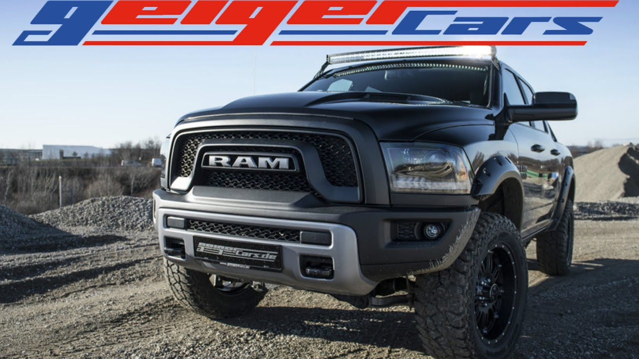 Geiger Custom 2016 Ram Rebel 4x4 Youtube