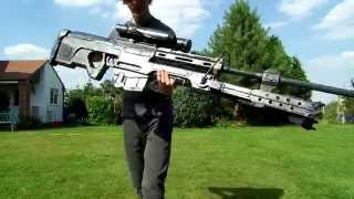 Wooden Halo Reach Sniper Rifle (srs99-am)