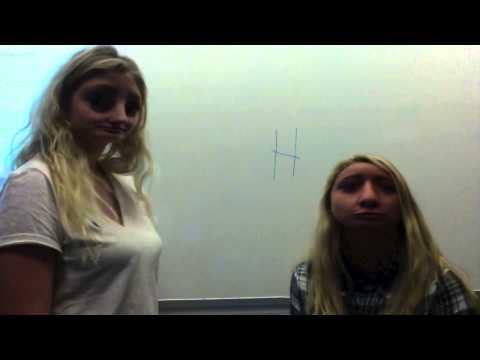 Signe og Emma Kemi video