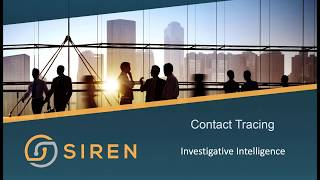 Siren Investigative Intelligence: Contact Tracing