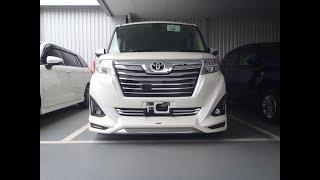 トヨタ ルーミー カスタム G-T MODELLISTA LUXURY BRIGHT STYLE 納車前