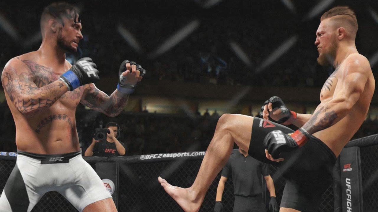 UFC 2 - CM Punk Knockout & Heavy Damage Compilation (EA Sports UFC ...