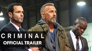 "Criminal (2016 Movie) Official Trailer – ""Remember"""