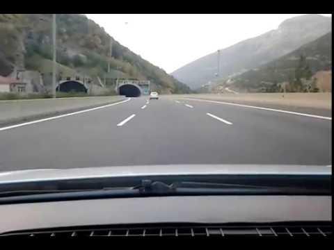 Gaziantep-Adana Arası Otoyol Tünelleri Araç İçi Kayıt