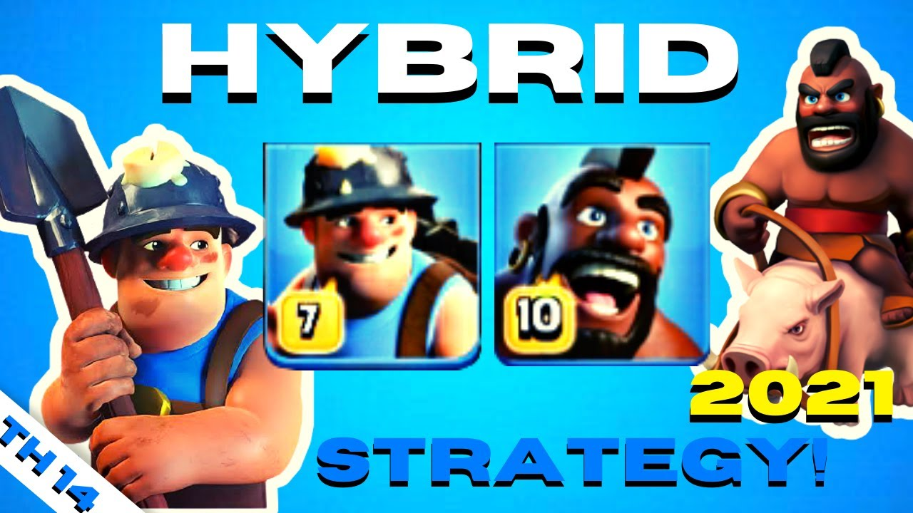 HYBRID ATTACK TH 14 | ONE OF THE MOST POWERFUL ATTACK STRATEGY TOWN HALL 14 | Clash Of Clans Coc