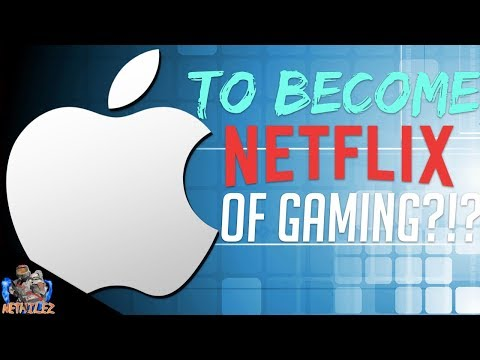 Apple to Make Their Own Netflix of Gaming Service?