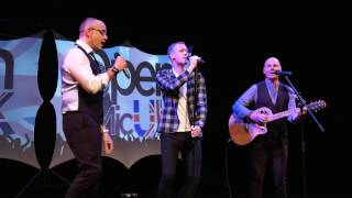 MEDLEY – VARIOUS ARTISTS performed by MEN AT RISK at Open Mic UK singing contest