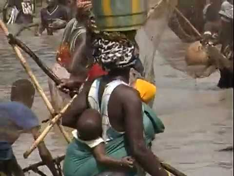 African Community Fishing Event - Long Version - Niger River, Mali