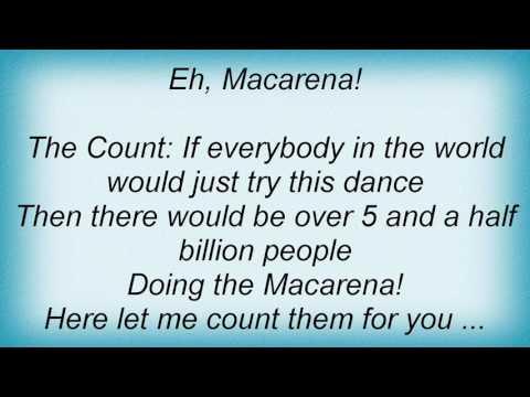 Sesame Street - Macarena Lyrics