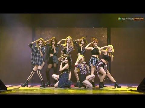 150831 [HD] SNSD-Genie+GEE @ Tencent K-Pop Live Music