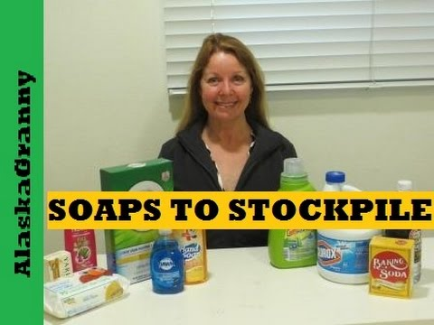 Prepping Supplies: Soaps to Stockpile