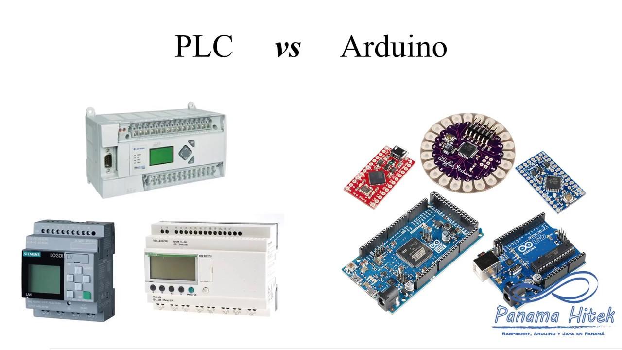 PLC vs Arduino: Comparación entre plataformas   Panama Hitek