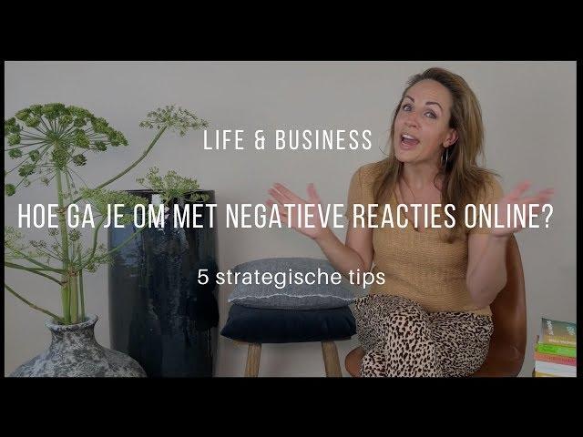 Hoe ga je om  met negatieve reacties online? | Life & Business afl. 6