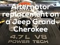 How To Replace An Alternator On A 99 Jeep Grand Cherokee